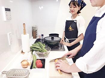 家事お手伝いサービスが料理教室に!~一人でゆっくり学びたい方にぴったりのレッスンをご案内~